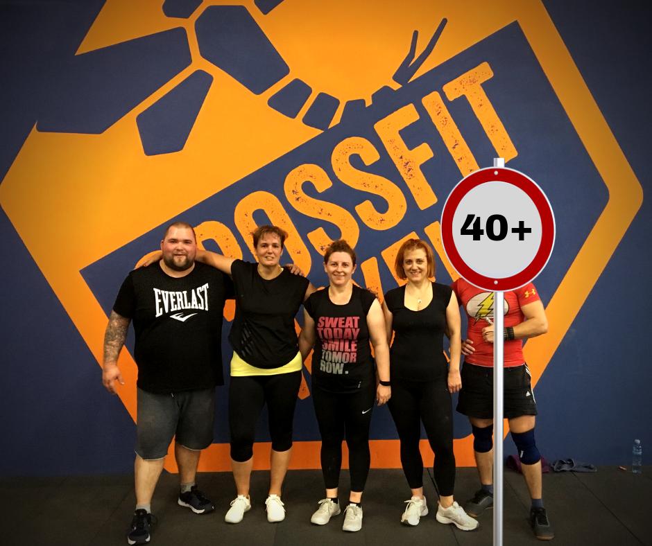 , CrossFit 40 felett, CrossFit -  MayFly