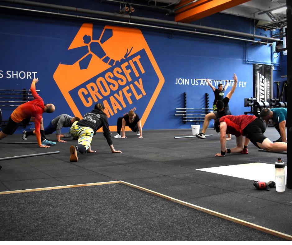 , Kezdő vagyok, heti hányszor ajánlott edzenem?, CrossFit -  MayFly